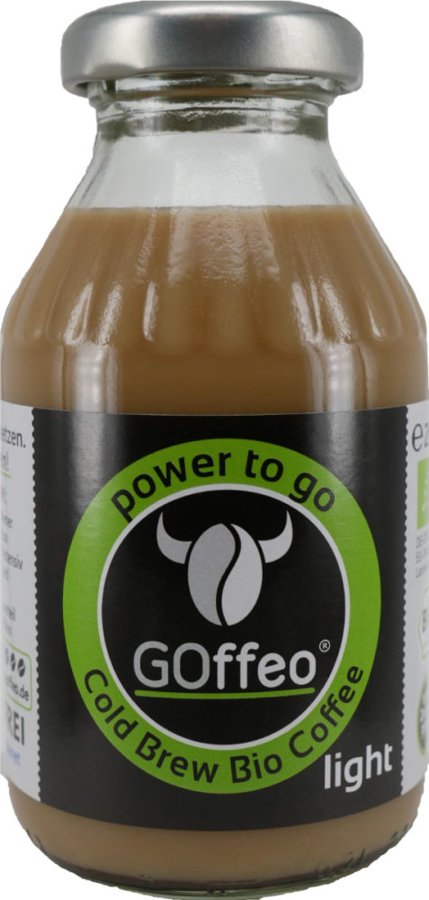 GOffeo-Cold-Brew-Bio-Coffee-light-power-to-go-kalt-extrahierter-Bio-Kaffee-Cold-Brew-Coffee-200ml-Glasflasche